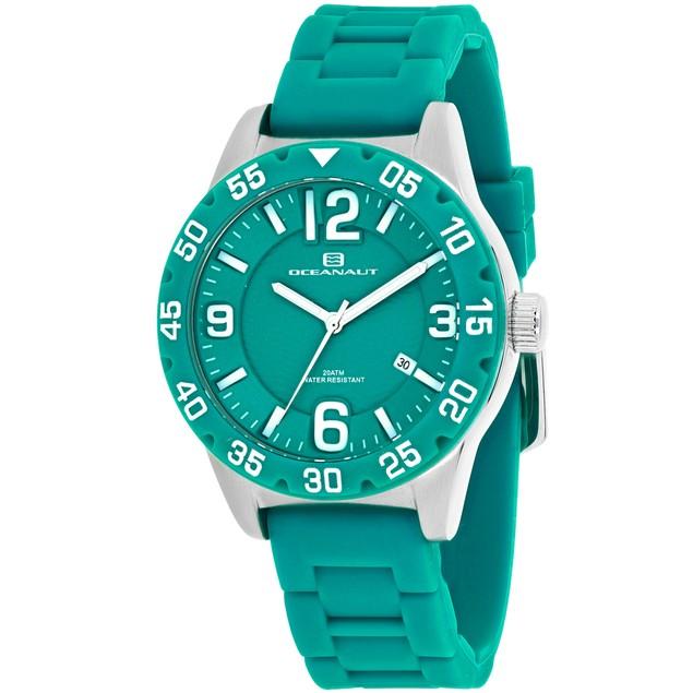 Oceanaut Women's Aqua One Green Dial Watch - OC2813