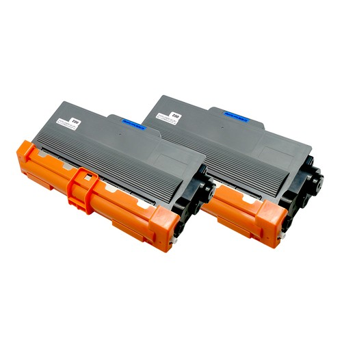 2-Pack Brother TN750 Compatible Toner