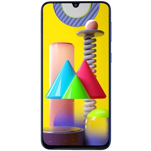 Samsung Galaxy M31 128GB GSM Factory Unlocked 4G LTE 6GB RAM Phone - Blue