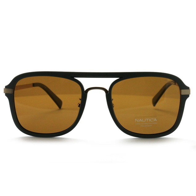 Nautica Men's Sunglasses N4628SP 014 Gray 56 21 145 Polarized