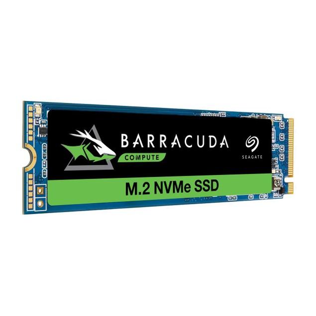 Seagate 500GB BarraCuda 510 M.2 PCIe NVMe Internal SSD NVMe 1.3 3D TLC