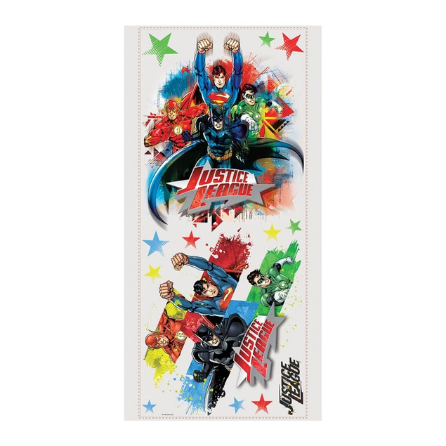 Roommates Nursery Baby Room Wall Decor Justice League Giant Wall Decal