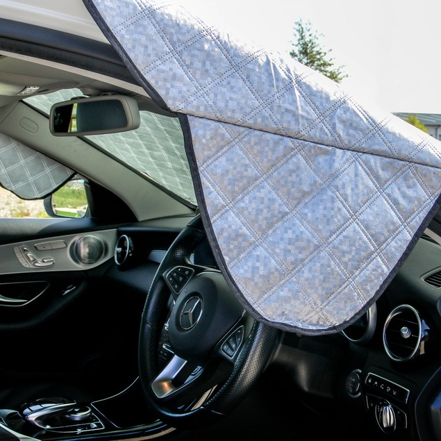 Car Windscreen Sun and Frost Protector   Pukkr