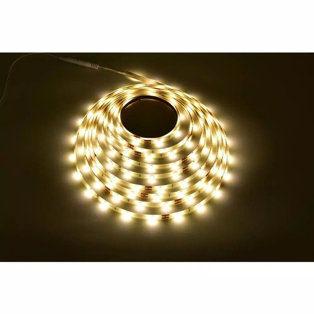 Commercial Electric 16 Feet Indoor Warm White LED Strip Light