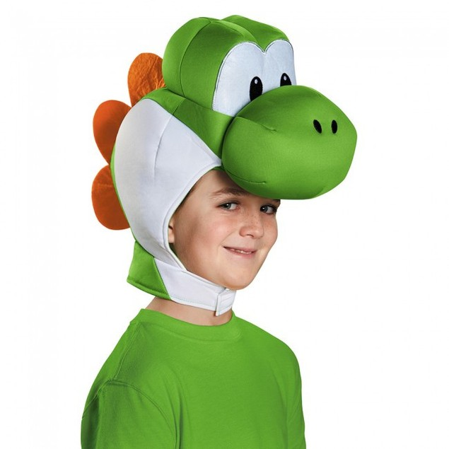 Yoshi Child Headpiece Super Mario Bros. Costume Headwear Accessory Hat
