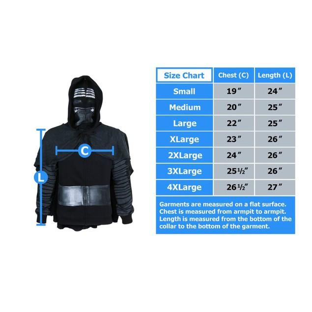 Star Wars I Am Kylo Ren Men's Costume Hoodie