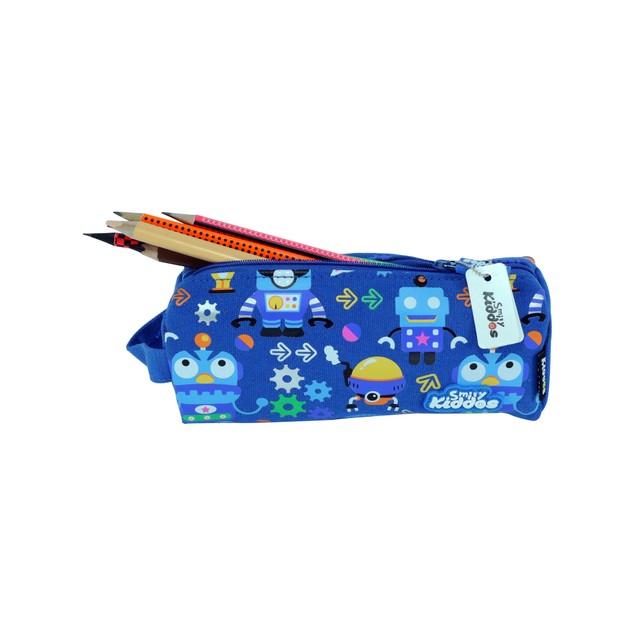 Smilykiddos Pencil Pouch Blue