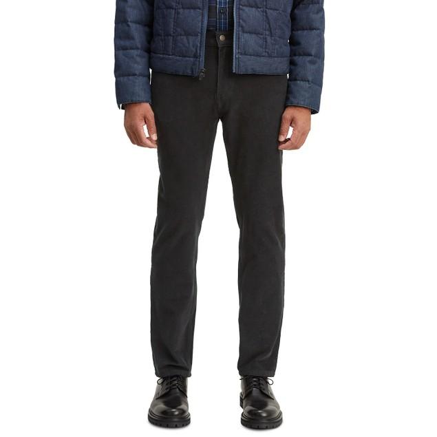 Levi's Men's 502 Taper Corduroy Pants Black Size 31X32