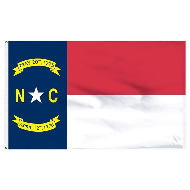 North Carolina 3'x5' Flag