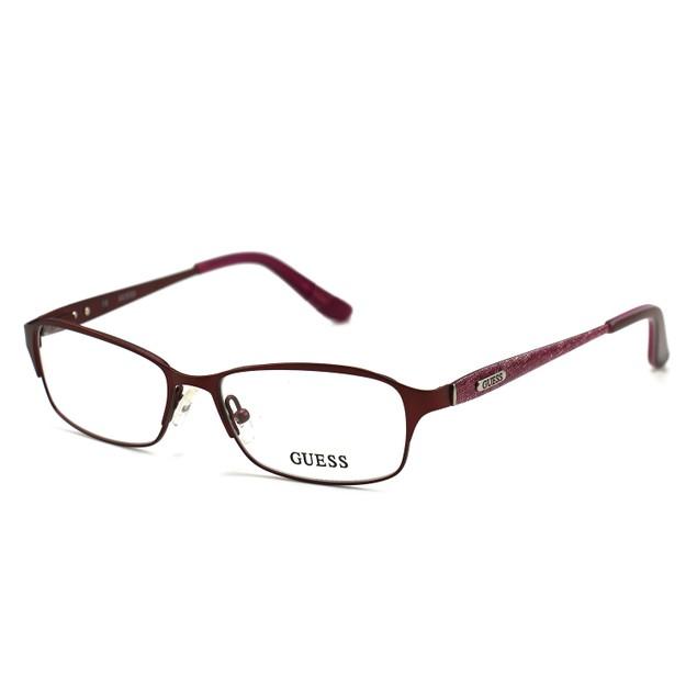Guess Women's Eyeglasses GU2424 BU Burgundy 51 15 135 Full Rim