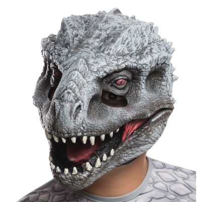 Jurassic World Indominus Rex Child Vinyl Mask Park Movie Boys Girls Kids