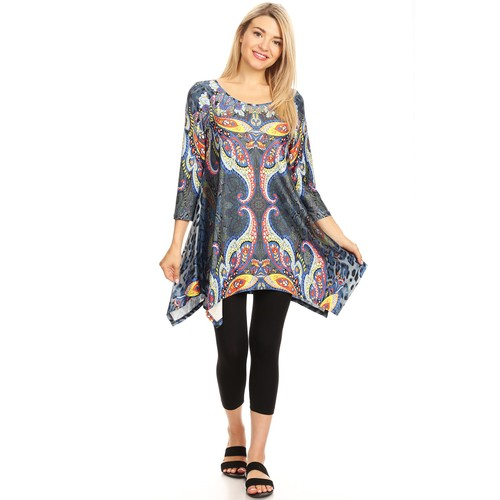 Marlene Tunic Top - Extended Sizes