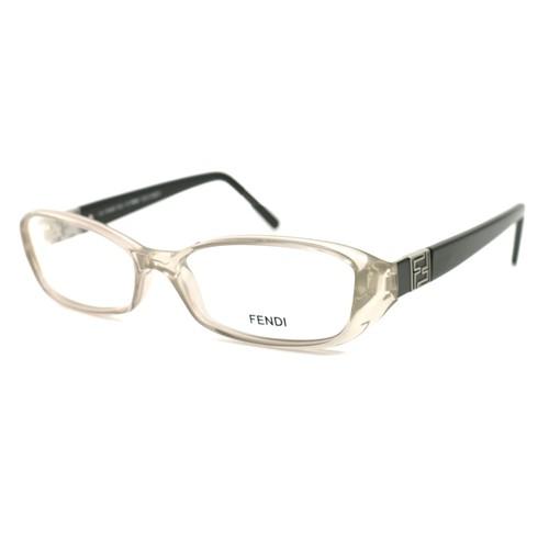 Fendi Women's Eyeglasses FF673 116 Clear/Black 53 16 135 Full Rim Oval