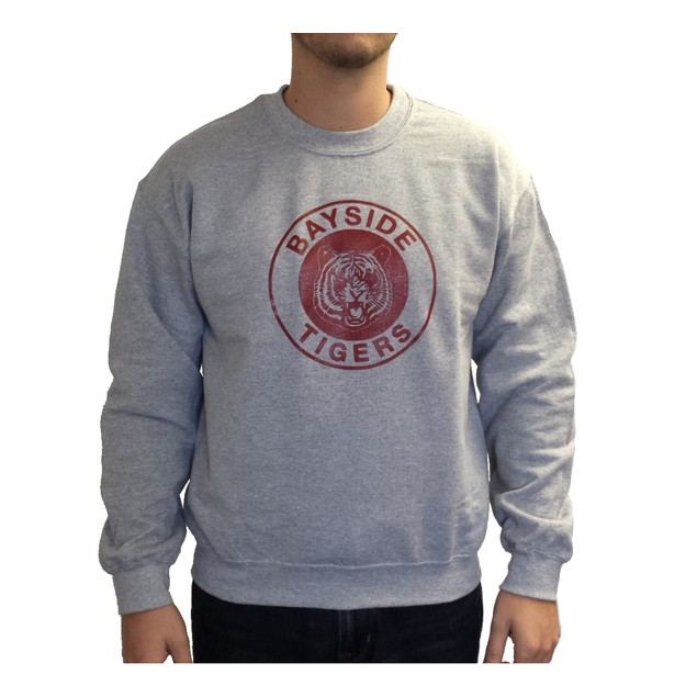 Zack Morris Bayside Tigers Crew Neck Sweatshirt