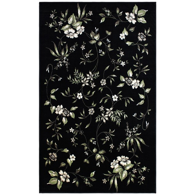 Designer Bloom Multicolor Area Rug Collection