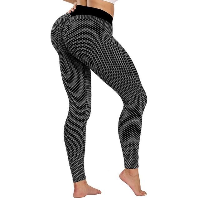 Haute Edition Women's Butt Lifting High Waist Yoga Pant Leggings with Tummy Control