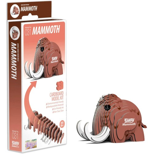 EUGY Mammoth 3D Craft Kit