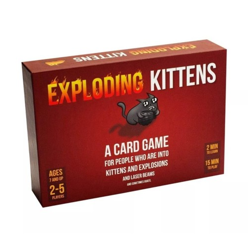 Exploding Kittens Original Card Games for Adults, Teens and Kids