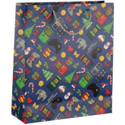 Retro Arcade Christmas Bag Extra Large