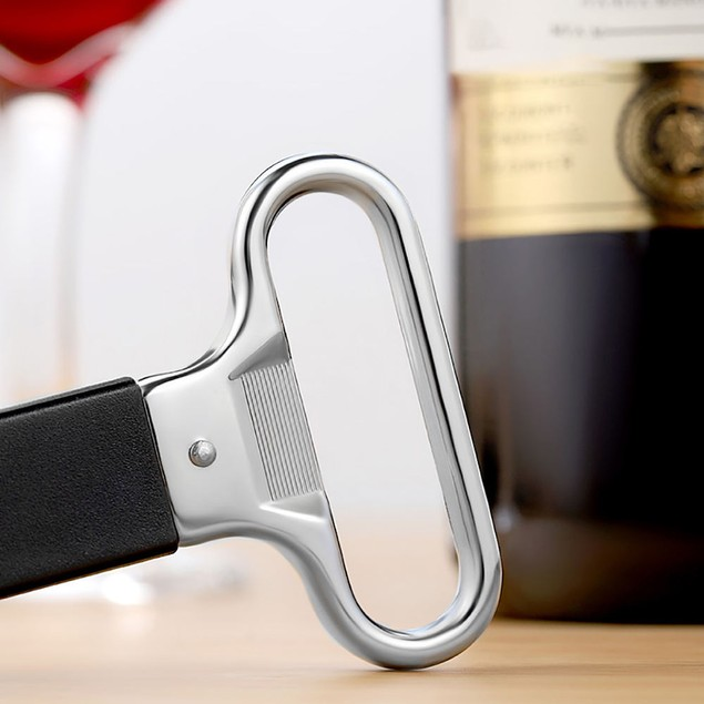 Two-Prong Cork Puller with Reusable Cork