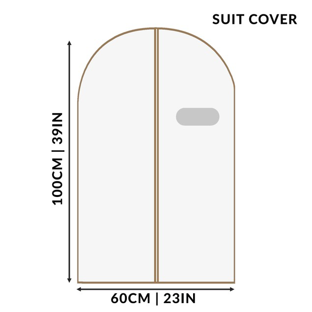 Breathable Clothes Covers - Pack of 6 | MandW