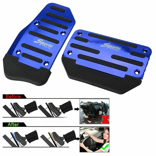 Automatic Transmission Car Modified Pedal-Blue