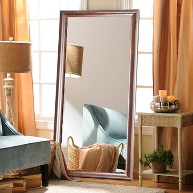 """BrandtWorks Copper Hill Floor Perfect Decorative Mirror - 31.5"""" x 70.5"""""""