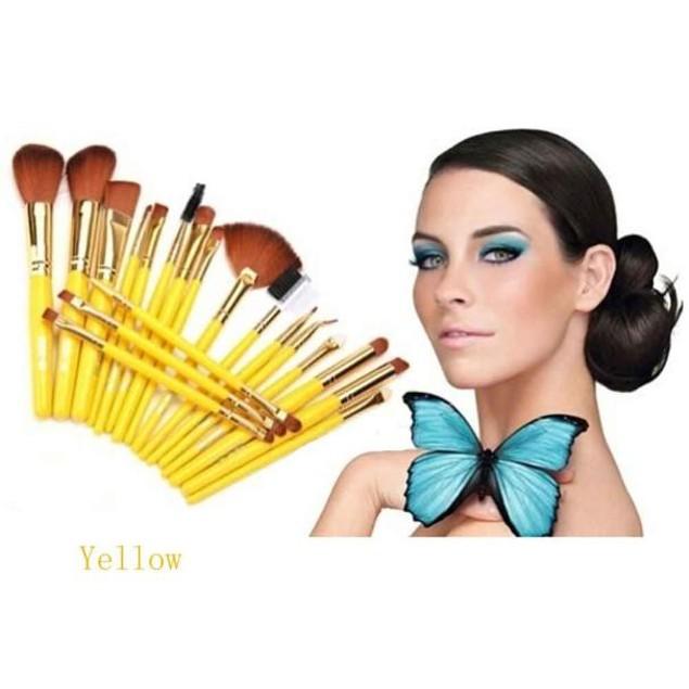 19pcs Soft Hair  Makeup Brushes Foundation Powder Brush