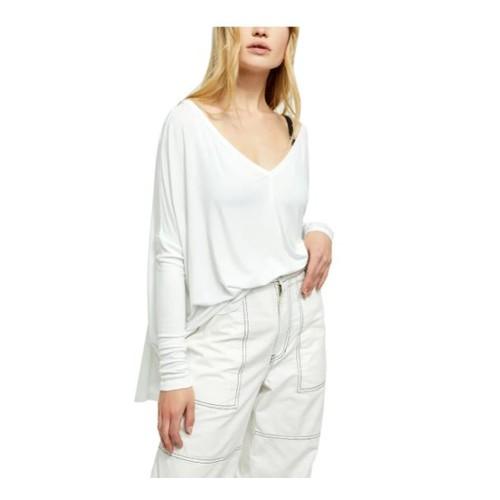 Free People Women's Moonshine Tunic White Size X-Small