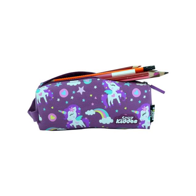 Smilykiddos Pencil Pouch Purple