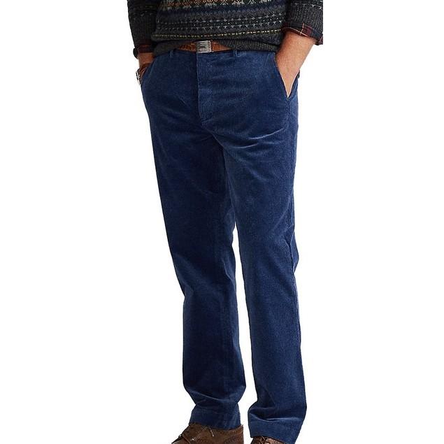 Polo Ralph Lauren Men's Stretch Classic Fit Corduroy Pants Navy Size 38X32