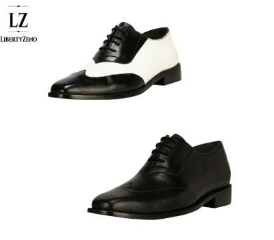 LibertyZeno Men's Genuine Handmade Leather Sole Wingtip Dress Shoes L-1118 Was: $99.99 Now: $58.99.