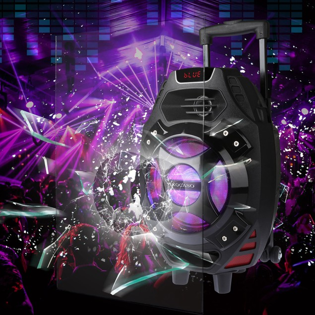 Colorful LED Portable Wireless Party Speaker