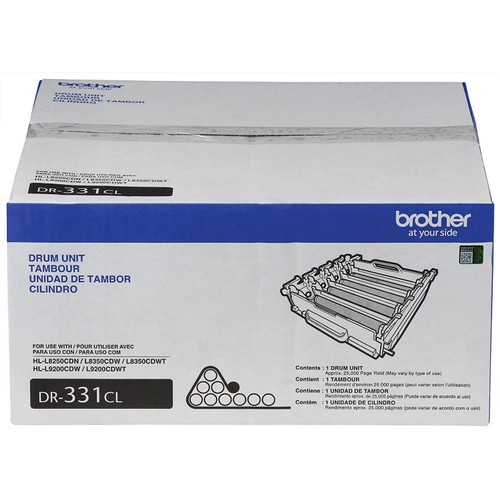 Brothers Brother DR331CL Replacement Drum Unit Set for HL-L8250, HL-L8350, MFC-L8600, MFC-L8850 Printers