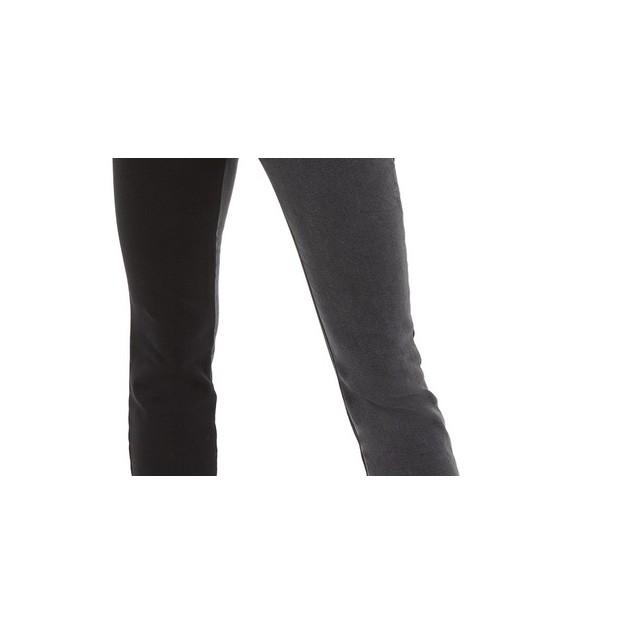 INC International Concepts Women's Two-Tone Skinny Jeans Black Size 4