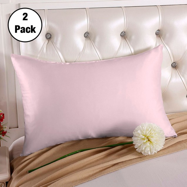 2-Pack Silk Pillowcases - 5 Colors