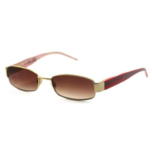 Just Cavalli Women's Sunglasses JC0165 753 Gold/Red 52 17 135 Full-Rim Oval