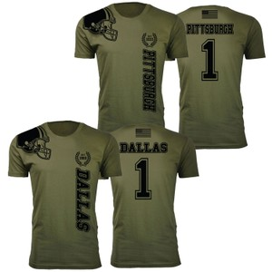 Men's Home of The Brave Football T-Shirts