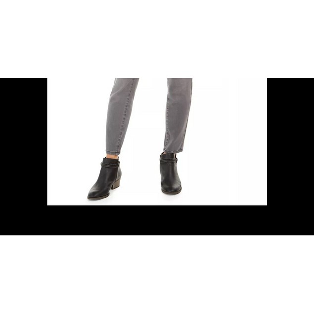 Style & Co Women's Curvy Fit Skinny Bling Pocket Jeans Charcoal Size 6