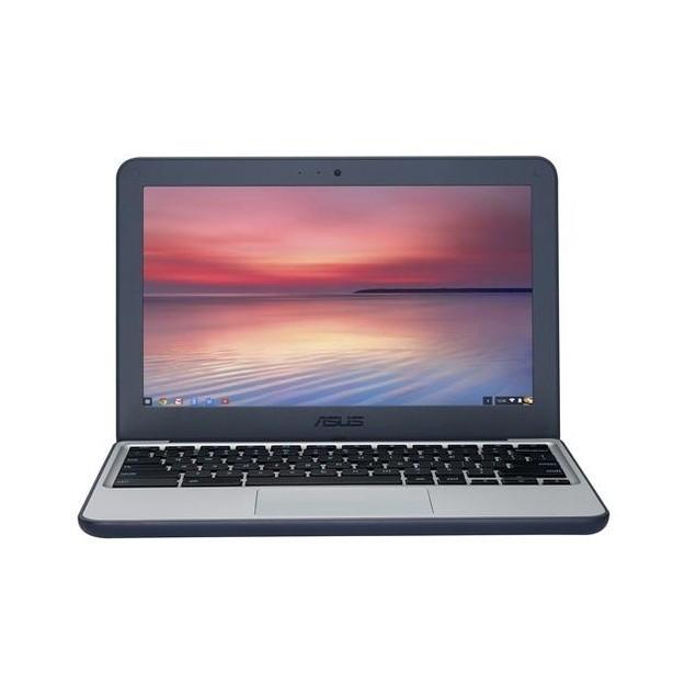 Asus Chromebook C202SA-YS02 Intel Celeron N3060,Blue(Refurbished)