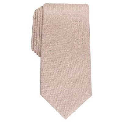 Perry Ellis Men's Mallon Solid Tie Gray Size Regular