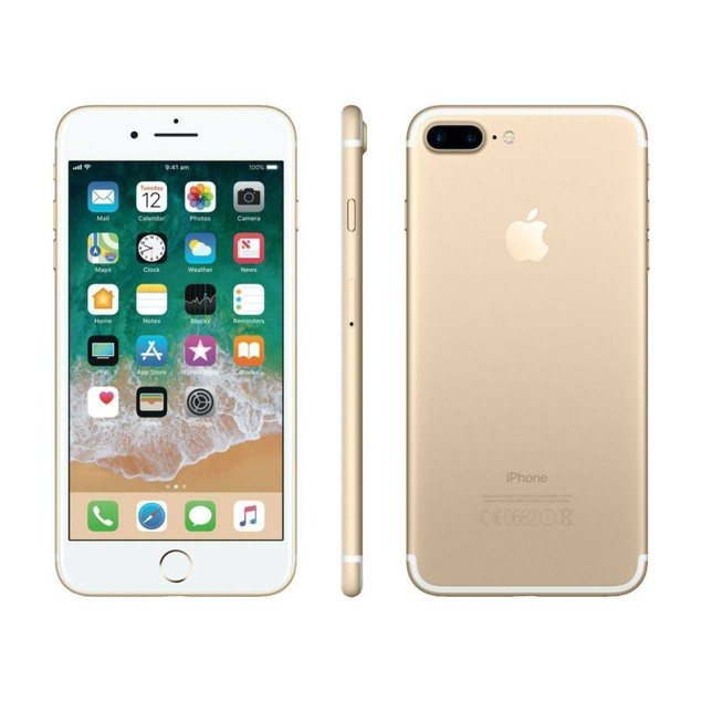 Apple iPhone 7 Plus 32GB Factory GSM Unlocked T-Mobile AT&T 4G LTE Gold - Grade A
