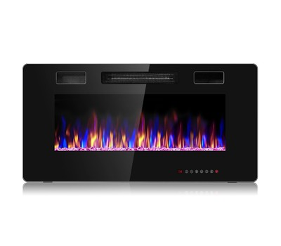 Electric 750with 1500W Fireplace Recessed Ultra Thin Wall Mounted Heater Was: $659.99 Now: $169.99.