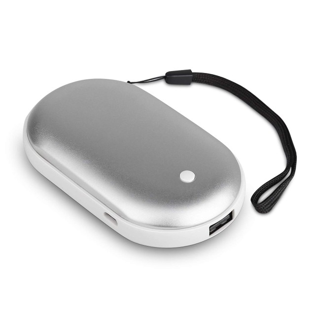 2-in-1 Rechargeable Hand Warmer and 5,200 mAh Power Bank