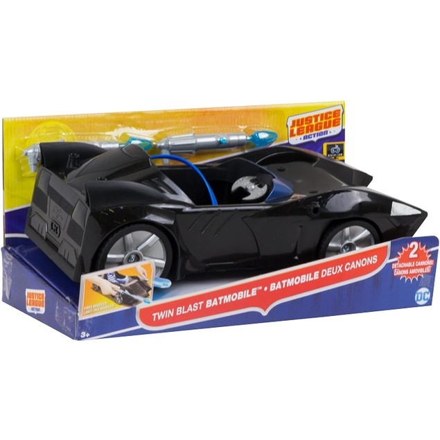 Justice League Action Twin Blast Batmobile Vehicle