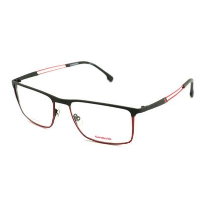 Carrera Men Eyeglasses Black/Red Rectangle CA 8831 OIT Full Rim 55 18 140