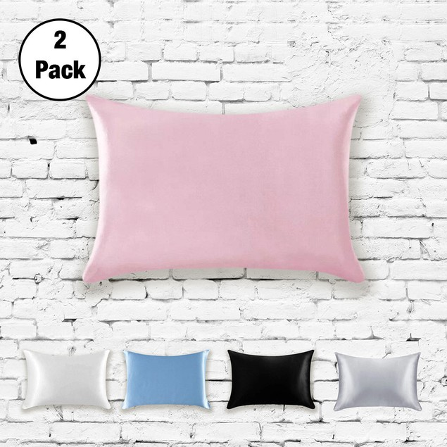 2-Pack 100% Silk Pillowcases