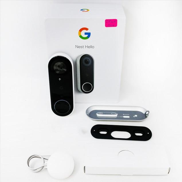 OB Nest Hello Smart Wi-Fi Video Doorbell (NC5100US) - White