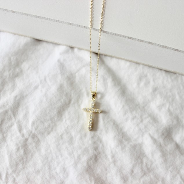Sterling Silver Cross Necklaces