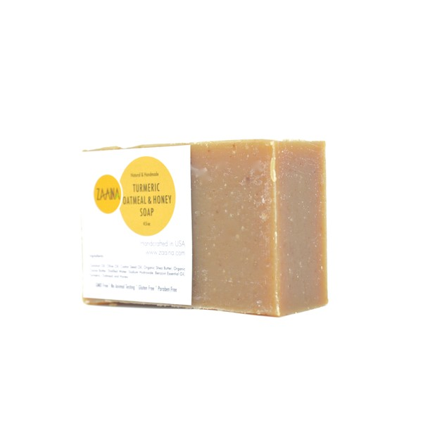 Turmeric Oatmeal Honey Soap Bar 4.5 OZ